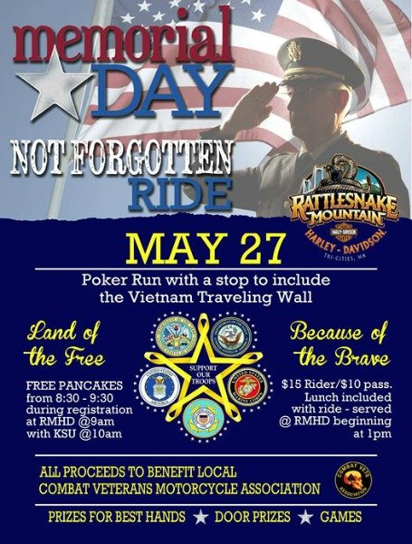not forgotten ride poster